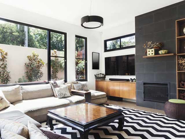 現代的な部屋